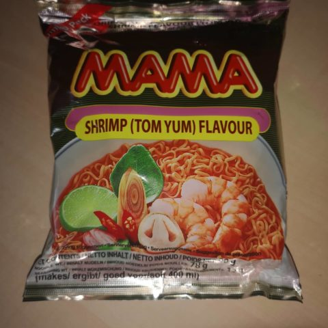 "#1687: Mama Oriental Style Instant Noodles ""Shrimp (Tom Yum) Flavour"" (Jumbo Pack)"