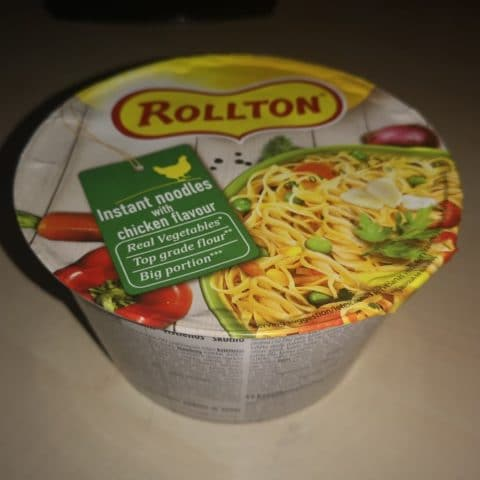 "#1694: Rollton ""Instant Noodles with Chicken Flavour"""
