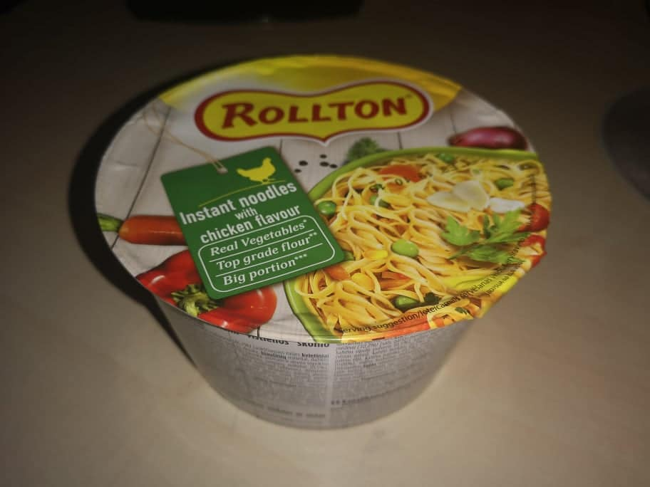 """#1694: Rollton """"Instant Noodles with Chicken Flavour"""""""