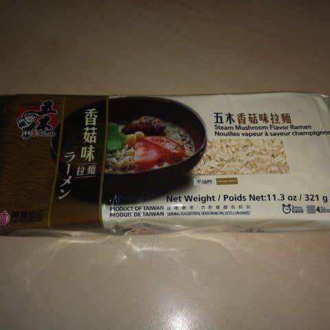 """#1699: Wu-Mu """"Steam Mushroom Flavor Ramen"""""""