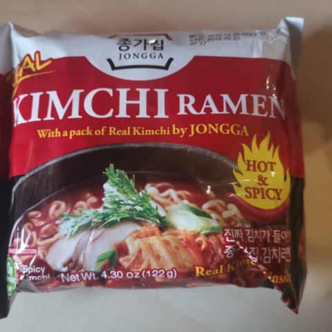 "#1711: Jongga ""Real Kimchi Ramen Hot & Spicy"""