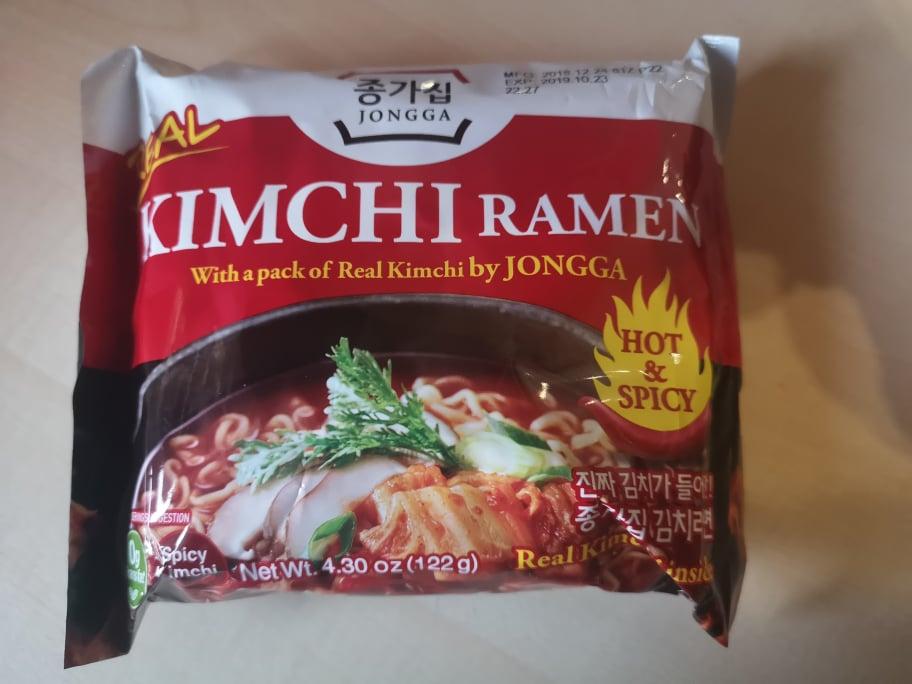 "#1711: Jongga ""Real Kimchi Ramen Hot & Spicy"" (Update 2021)"