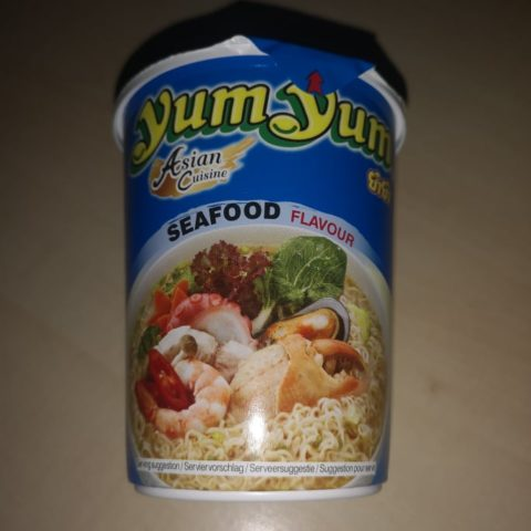 "#1716: YumYum Asian Cuisine ""Seafood Flavour"" Cup"