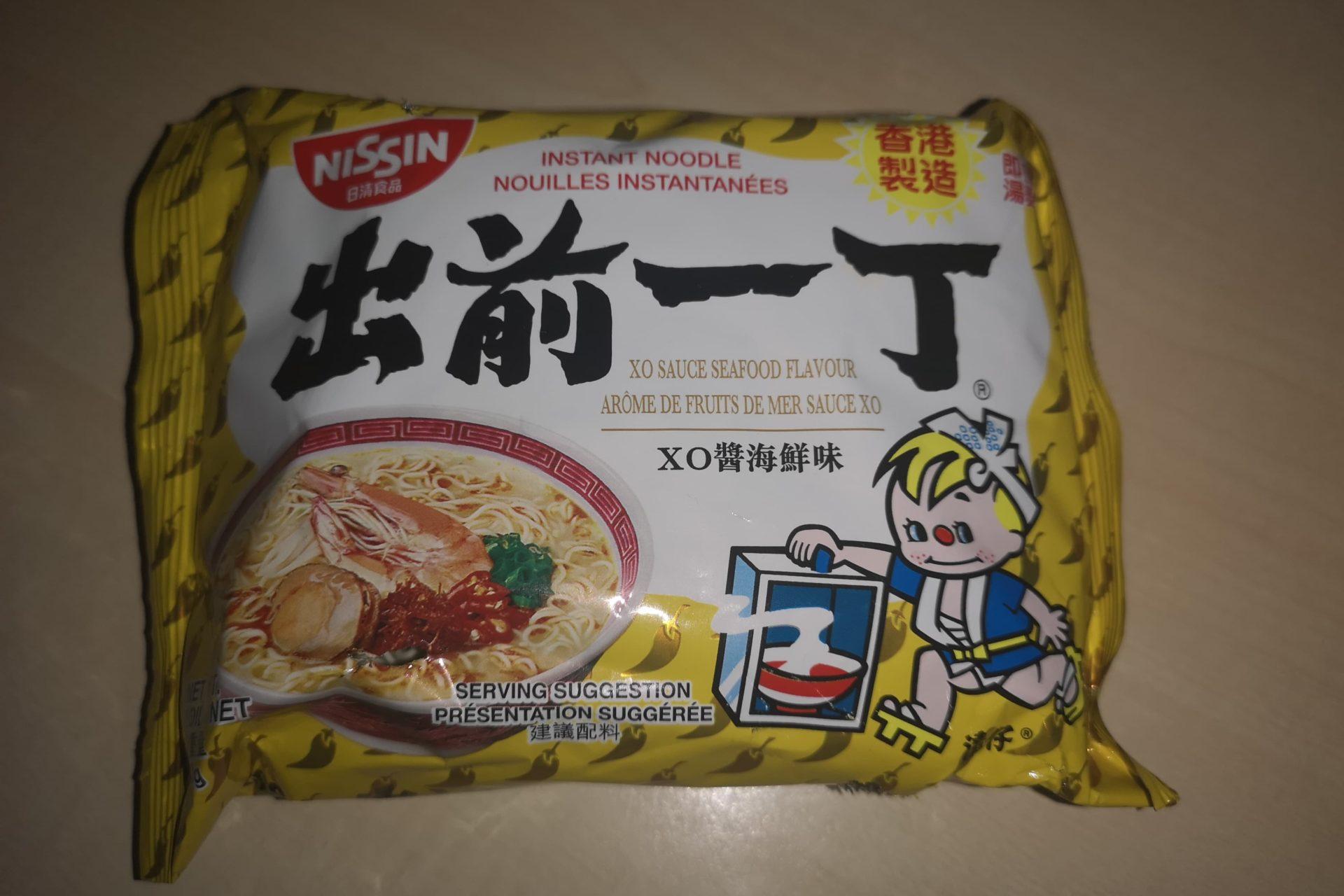 "#1715: Nissin ""Instant Noodle XO Sauce Seafood Flavour"""