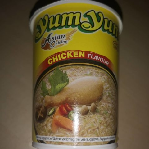 "#1720: YumYum Asian Cuisine ""Chicken Flavour"" Cup"