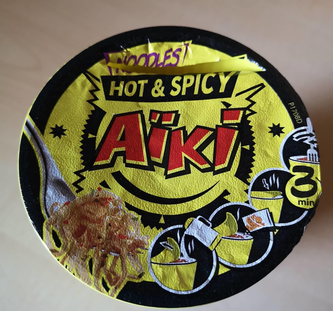 """#1730: Aïki """"Noodles Hot & Spicy"""" Cup"""