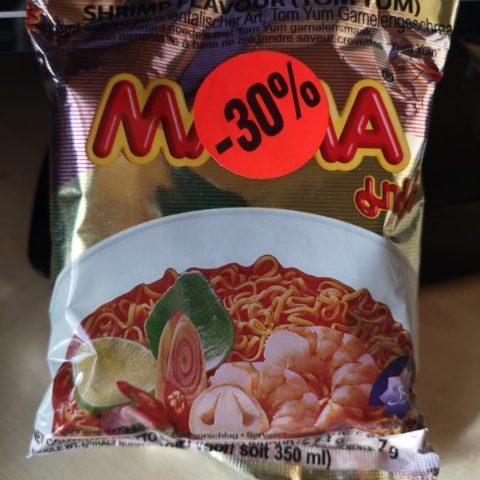 """#1740: Mama Oriental Style Instant Noodles """"Shrimp Flavour (Tom Yum)"""""""