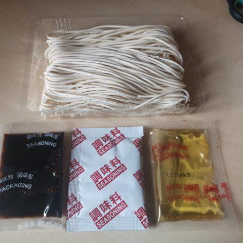 """#1739: Mom's Dry Noodle """"Onion Oil & Shrimp Flavor"""""""