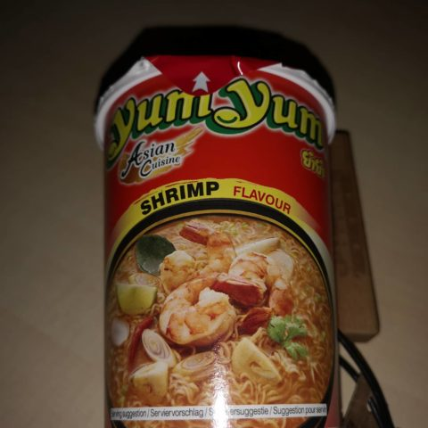 "#1738: YumYum Asian Cuisine ""Shrimp Flavour"" Cup"
