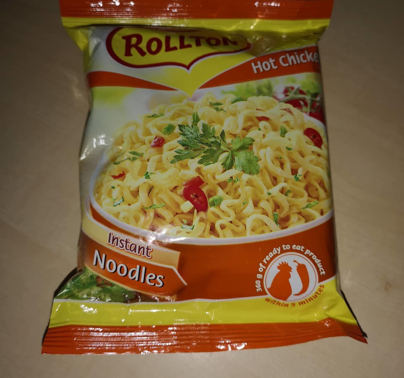 "#714: Rollton Instant Noodles ""Hot Chicken Flavour"""