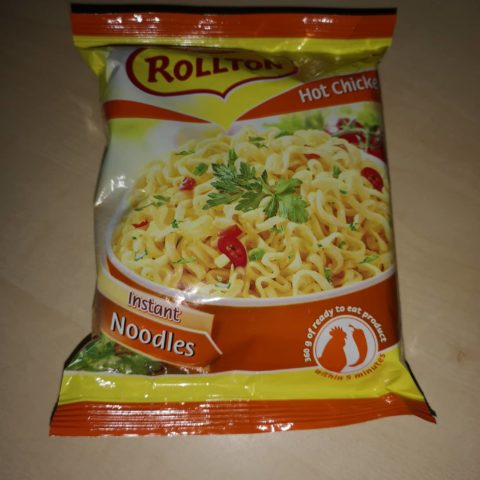 "#714: Rollton Instant Noodles ""Hot Chicken Flavour"""