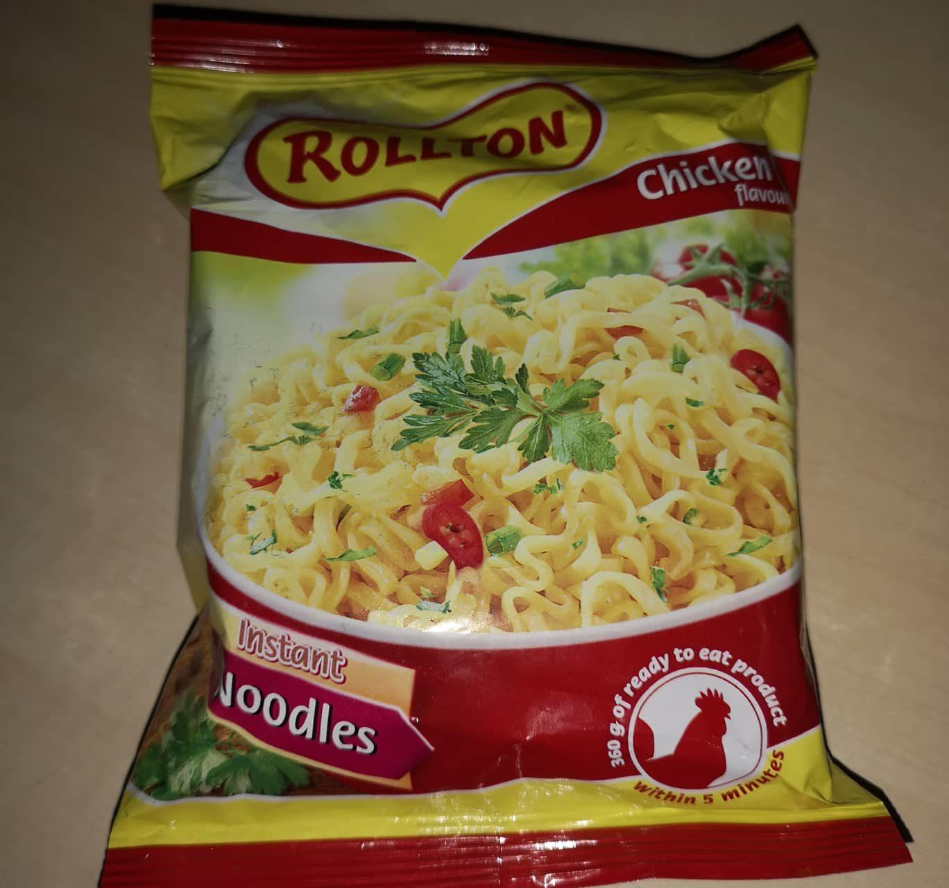 "#778: Rollton Instant Noodles ""Chicken Flavour"""