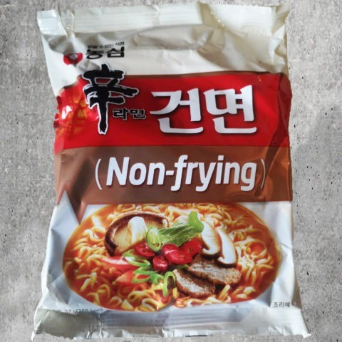 "#1757: Nongshim ""Non-Frying Shin Ramyu Hot & Spicy Instant Noodle"""