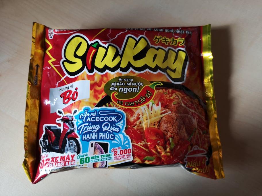 """#1751: Acecook """"SiuKay Hương vị Bò"""""""