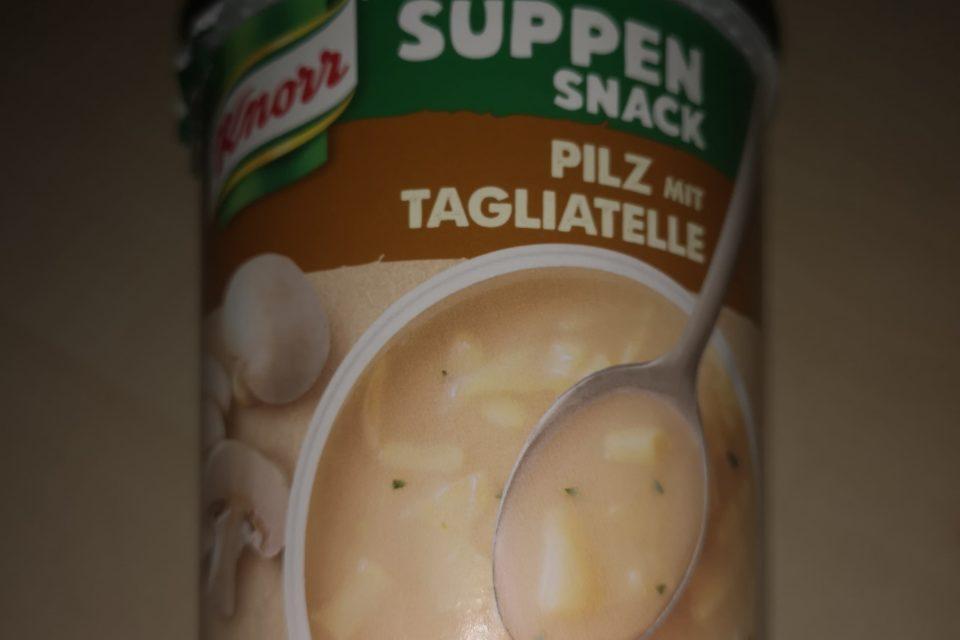 "#1756: Knorr Suppen Snack ""Pilz mit Tagliatelle"""