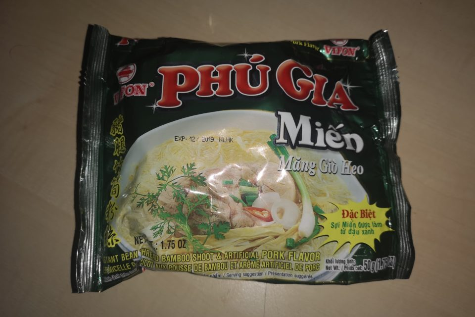 "#1765: Vifon ""Phư Gia Miên Măng Giơ Heo"" (Instant Bean Thread Bamboo Shoot & Artificial Pork Flavor)"