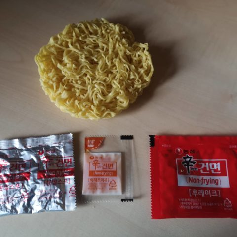 """#1757: Nongshim """"Non-Frying Shin Ramyu Hot & Spicy Instant Noodle"""""""