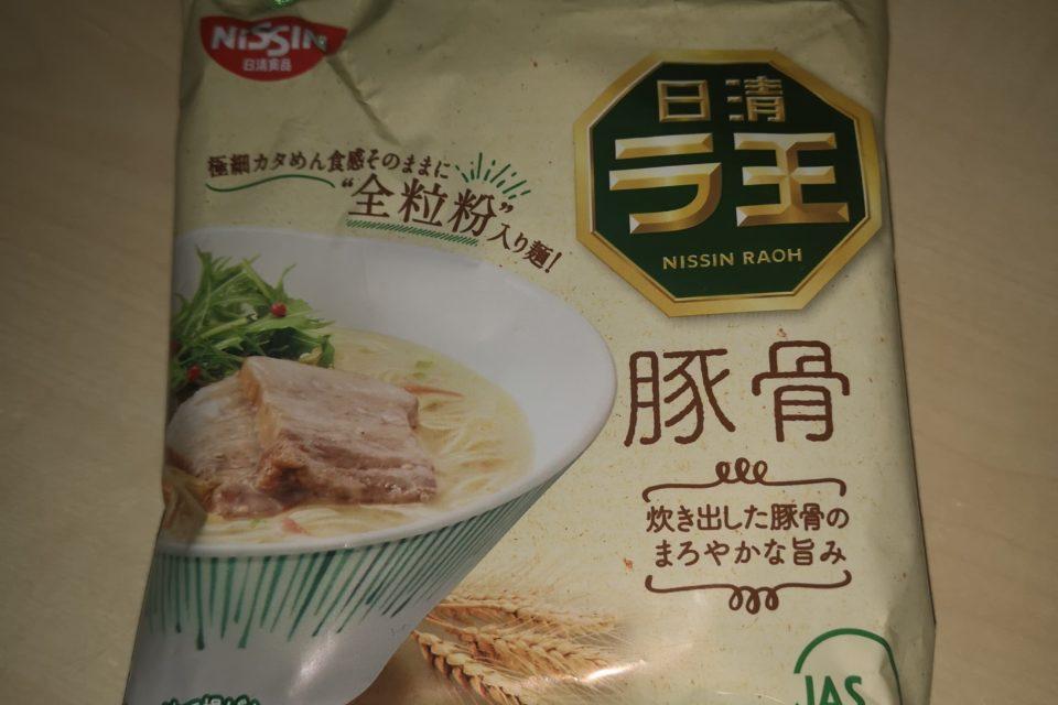 "#1763: Nissin Raoh ""Tonkotsu Pork Based Ramen"""