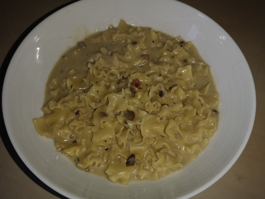 "#1768: Zamek ""Pasta Funghi"" (Nudeln in Pilzsauce)"
