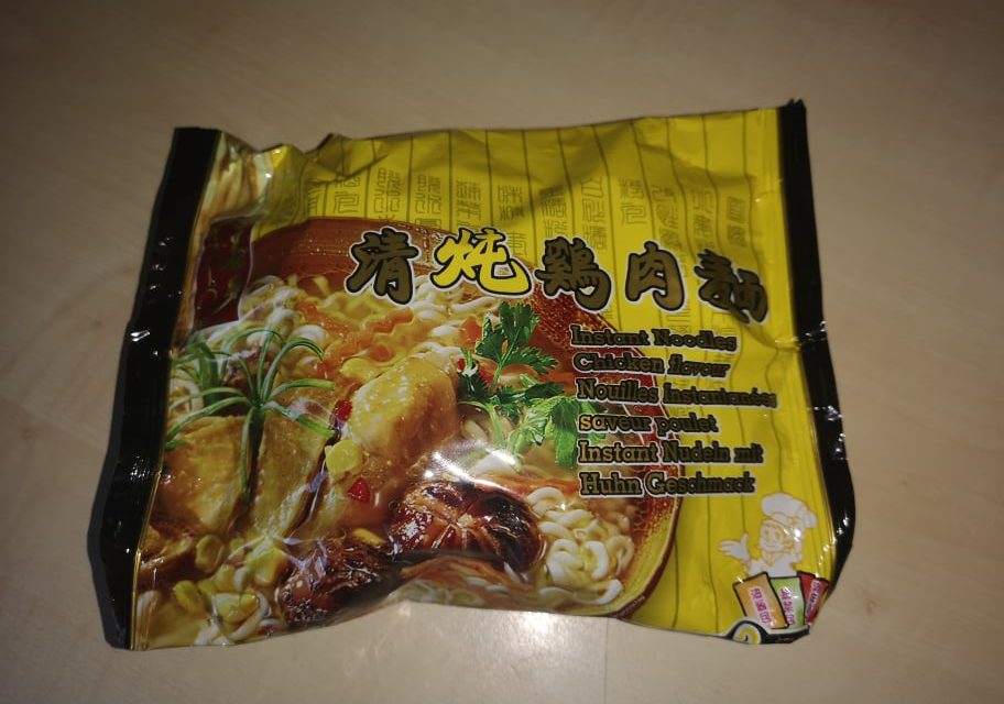 "#1772: Yato ""Instant Noodles Chicken Flavour"""