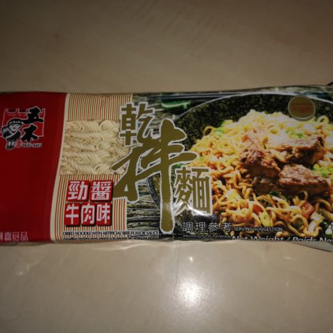 "#1778: Wu-Mu ""Dried Noodle With Artificial Beef Flavor Sauce"""