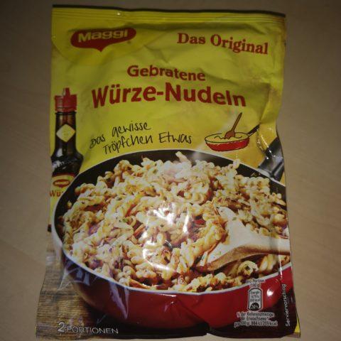 """#1779: Maggi """"Gebratene Würze-Nudeln"""" Das Original"""