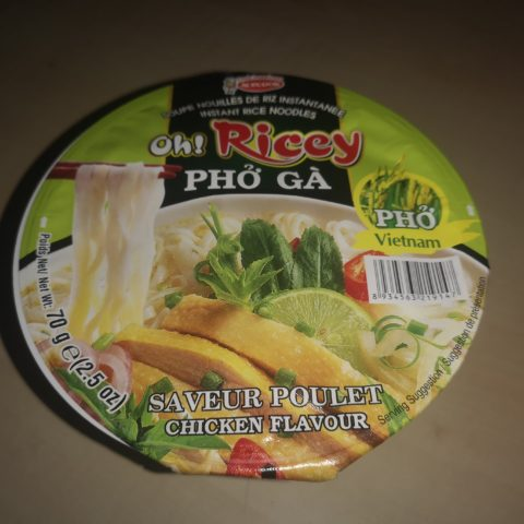 "#1780: Acecook ""Oh! Ricey Phở Gà"" (Instant Rice Noodles Chicken Flavour) Bowl"