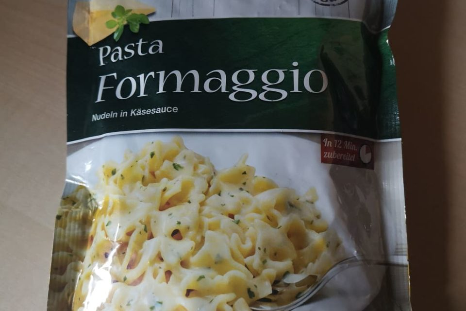 "#1782: Zamek ""Pasta Formaggio"" (Nudeln in Käsesauce)"