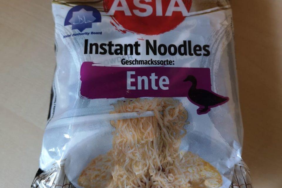 """#1789: Bon Asia Instant Noodles """"Geschmackssorte: Ente"""""""