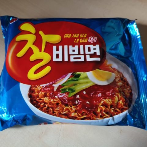 "#1791: Nongshim ""Chal Bibimmyun Sweet & Spicy Cold Instant Noodles"""
