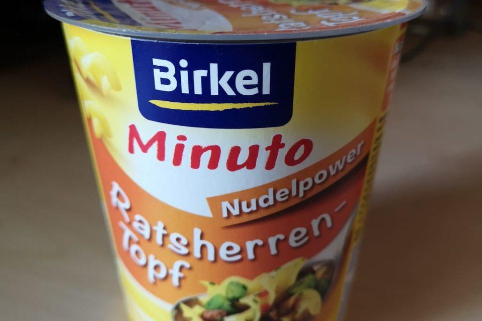 """#1796: Birkel """"Minuto Nudelpower Ratsherren-Topf"""""""