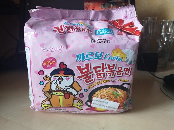 """#1403: Samyang Carbo Buldak Bokkeummyeon """"Hot Chicken Flavour Ramen"""""""
