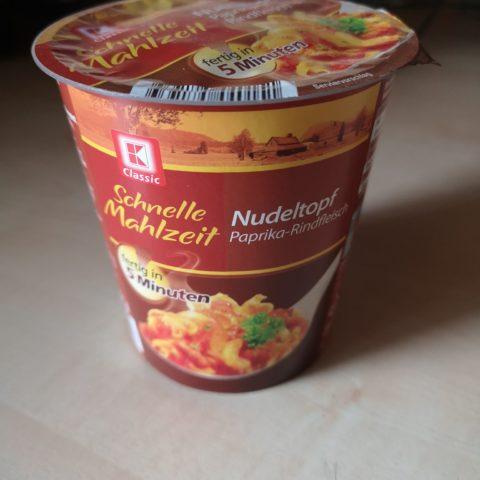 """#1800: K-Classic Schnelle Mahlzeit """"Nudeltopf Paprika-Rindfleisch"""""""