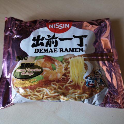 """#1804: Nissin Demae Ramen """"Shrimps"""""""