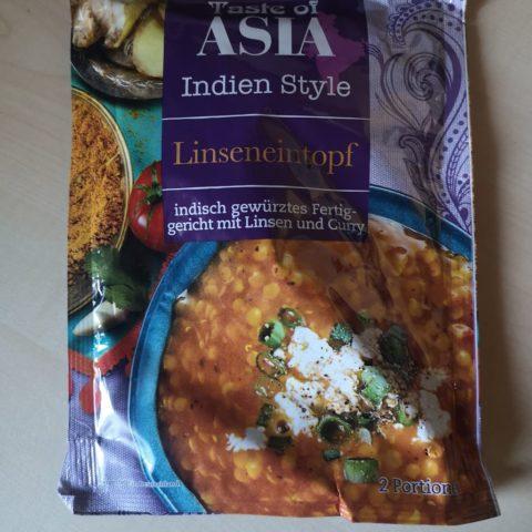 "#1805: Taste of Asia ""Indien Style Linseneintopf"""
