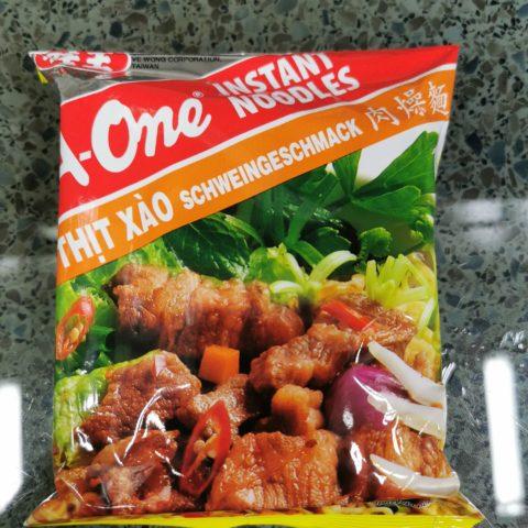 "#1898: A-One ""Mì Thịt Xào"" (Schweingeschmack / Pork Flavor)"