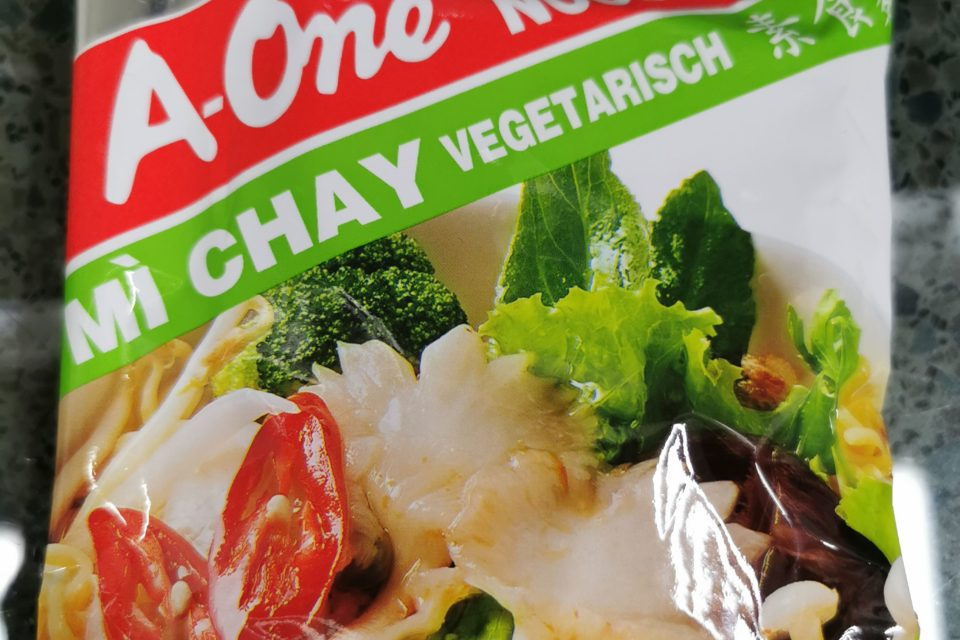 "#1925: A-One ""Mì Chay Vegetarisch"" (2021)"