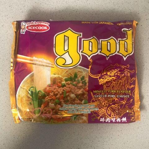 "#785: Vina Acecook ""Good Bean Vermicelli"" Artificial Minced Pork Flavour"