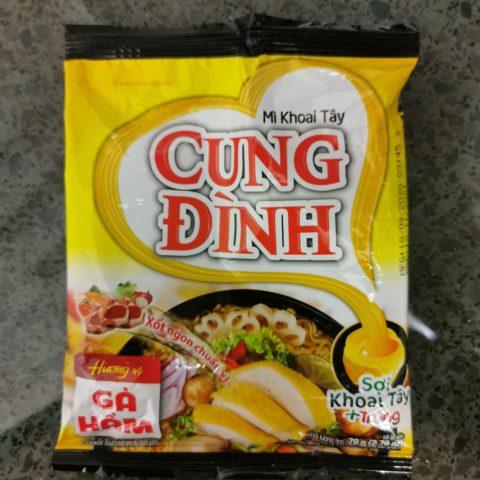 """#2136: Cung Đình """"Mì Khoai Tây Hương Vị Gà Hầm (Stewed Chicken Flavour)"""""""