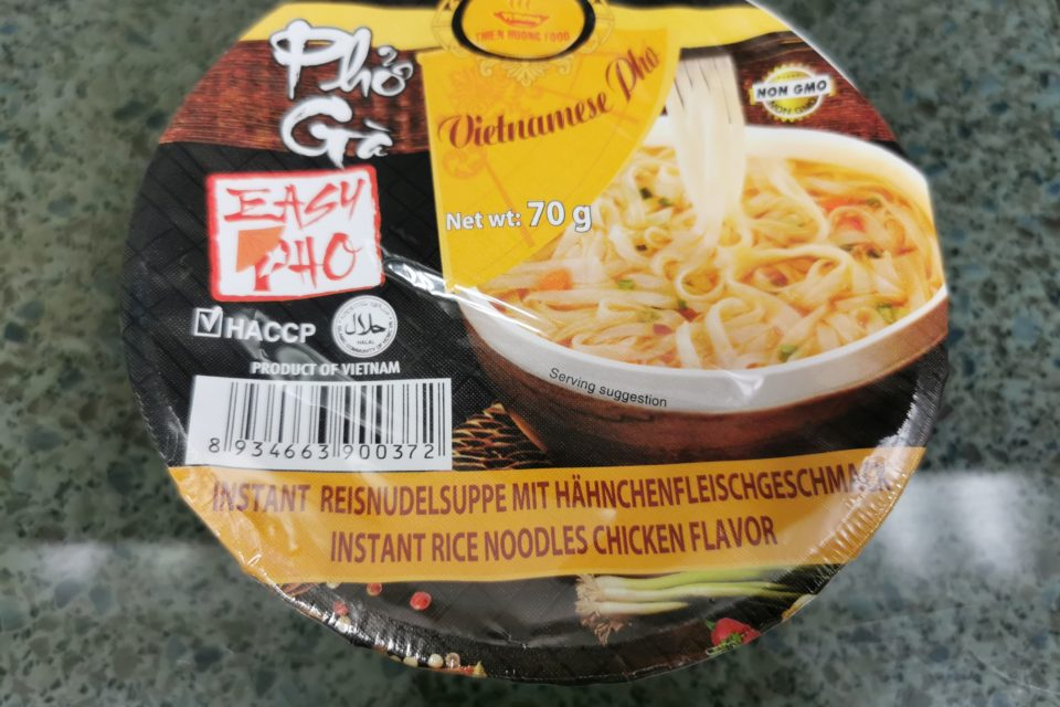 """#1939: Vi Huong """"Pho Ga Instant Rice Noodles with Chicken Flavor"""""""