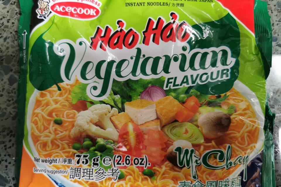 "#1465: Acecook Hảo Hảo ""Mi Chay Instant Noodles Vegetarian Flavour"" (Update 2021)"