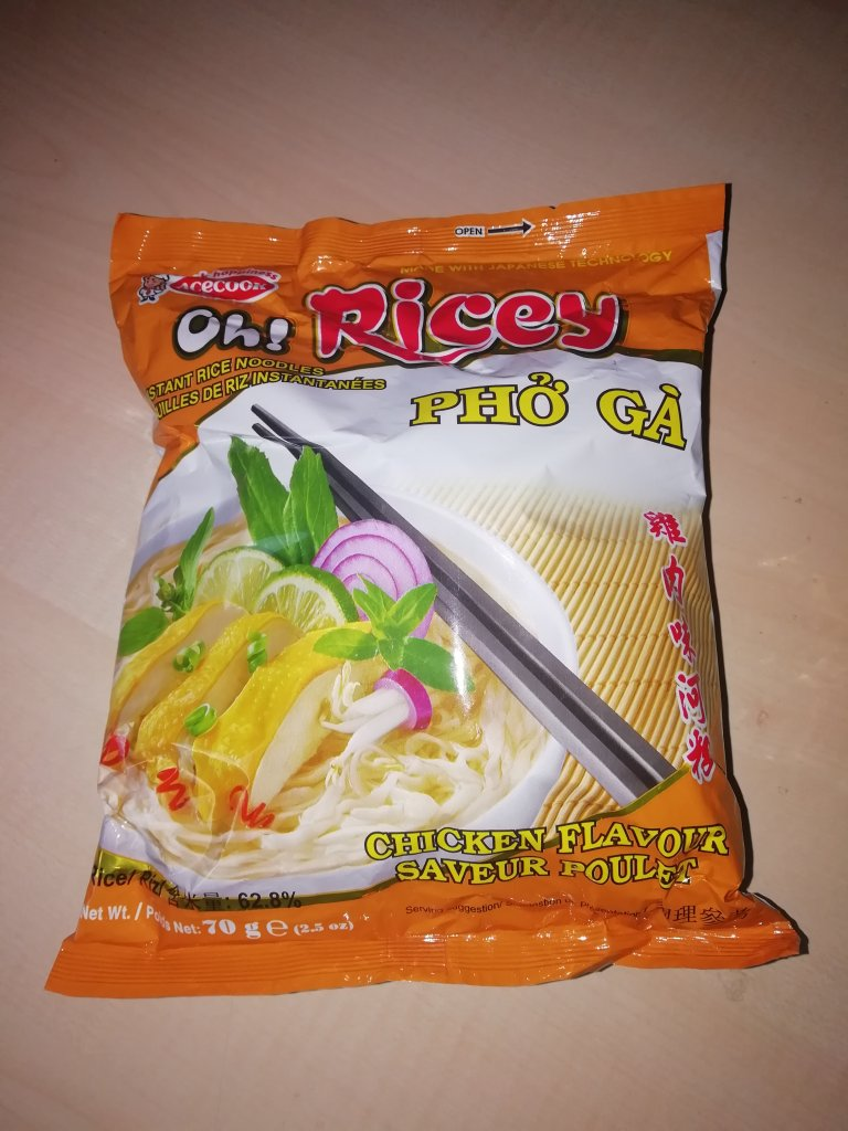 """#1542: Acecook """"Oh! Ricey Phở Gà"""" (Instant Rice Noodles Chicken Flavour)"""