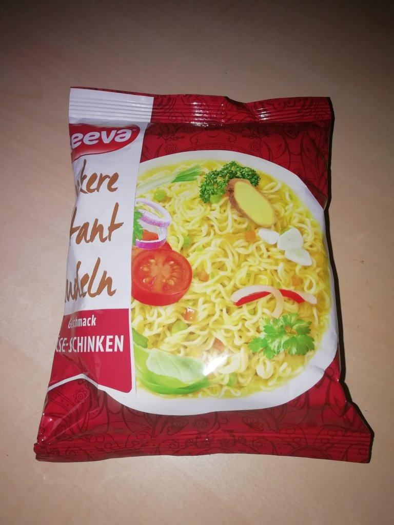 """#1543: Reeva """"Leckere Instant Nudeln Geschmack Käse-Schinken"""""""
