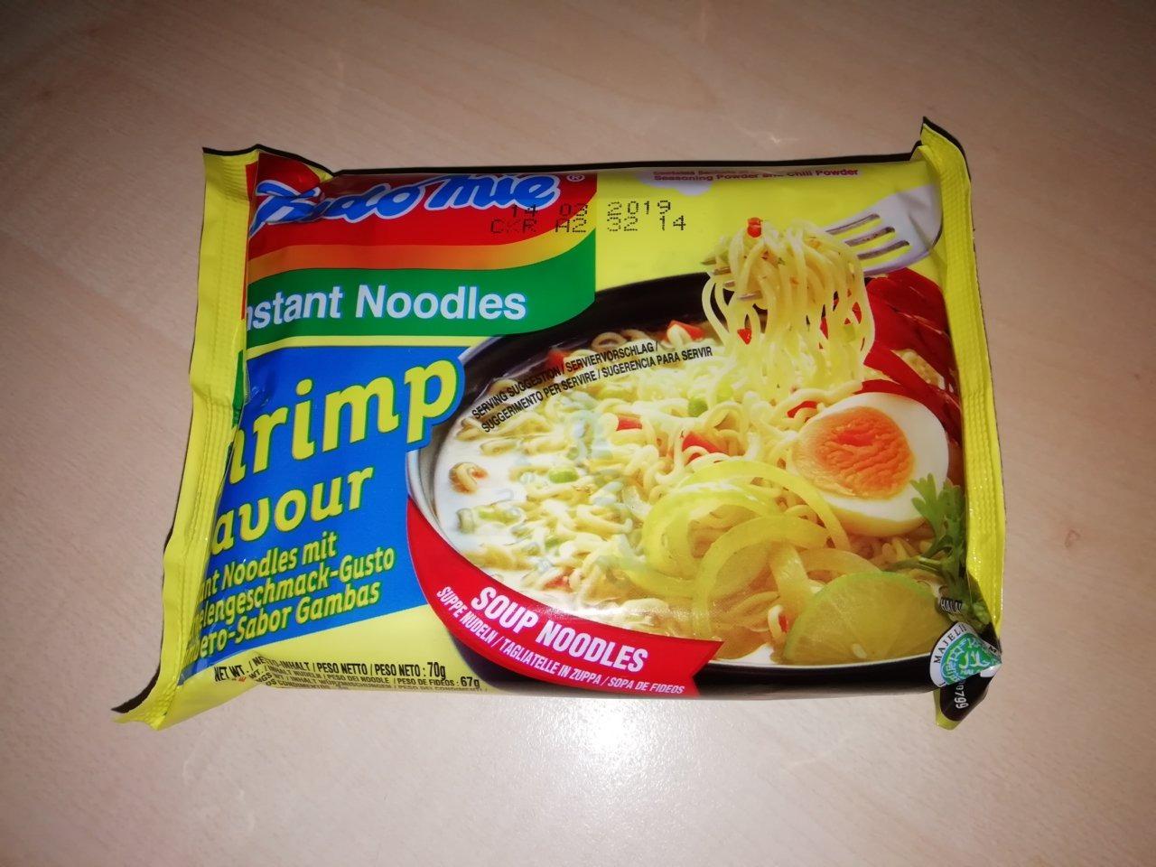 """#362: Indomie Instant Noodles """"Shrimp Flavour"""" Rasa Kaldu Udang"""