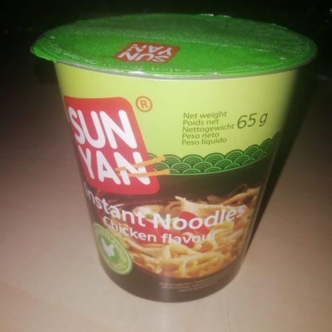 """#1558: Sun Yan """"Instant Noodles Chicken Flavour"""" Cup"""