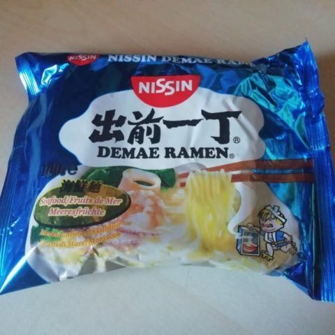 "#1559: Nissin ""Demae Ramen Seafood"" (Meeresfrüchte)"