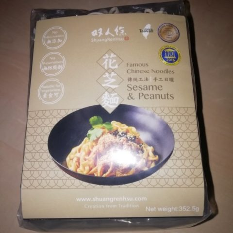 "#1564: ShuangRenHsu Famous Chinese Noodles ""Sesame & Peanuts"""