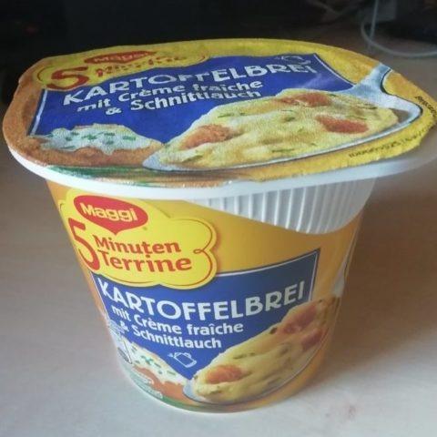 """#1570: Maggi 5 Minuten Terrine """"Kartoffelbrei mit Crème Fraîche & Schnittlauch"""" (2019)"""