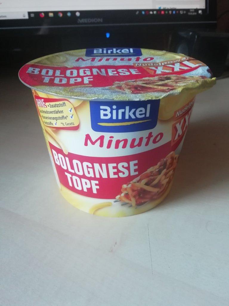 "#1572: Birkel Minuto ""Nudelpower XXL Bolognese Topf"""