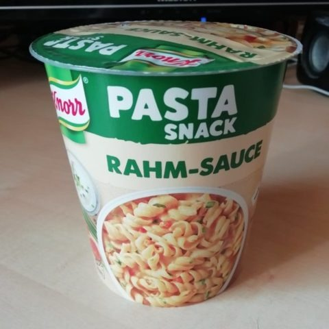 "#1574: Knorr ""Pasta Snack Rahm-Sauce"""